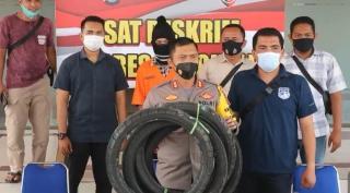 Polres Bengkalis Tangkap Tiga Persangka Ilegal Logging