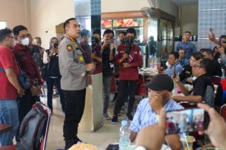 Kapolresta Adakan Temu Ramah Bersama Insan Pers Dalam Rangka Menjalin Silahturahmi dan Sinergitas