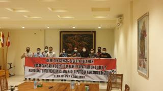 Menjelang putusan MK Rajut paslon no 2 ajak pendukung Bersabar